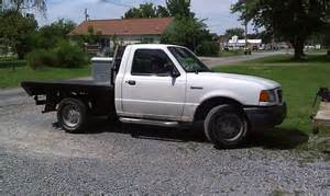 purchase used 2001 flatbed ford ranger xl standard cab