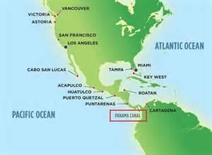 Panama Canal On World Map by Panama Canal On Map Adriftskateshop
