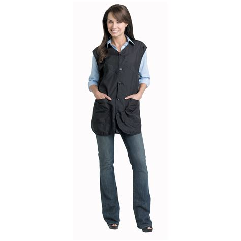 Hair Stylist Vest Apparel by Andre Luxurious Ultrasilk Stylist Vest Black Xl 975