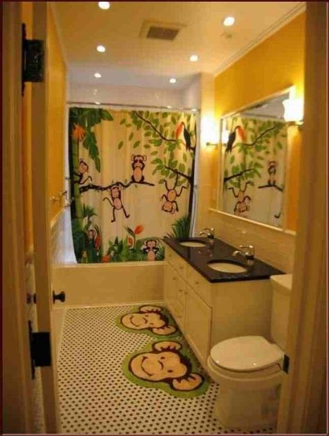 jungle bathroom 25 kids bathroom decor ideas ultimate home ideas