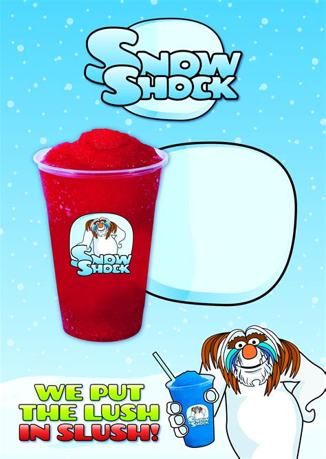 slush cup photo booths clipart template collection