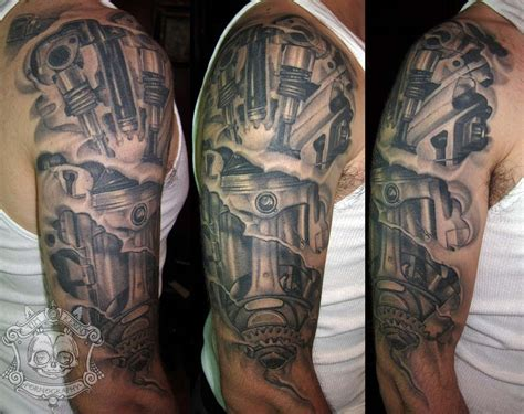 piston spark tattoo pictures to pin on pinterest