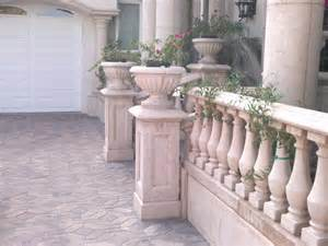 Concrete Balustrade Gfrc Lightweight Balustrade Railing Tuscany Baluster