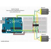How To Use The L293D Motor Driver  Arduino Tutorial 2