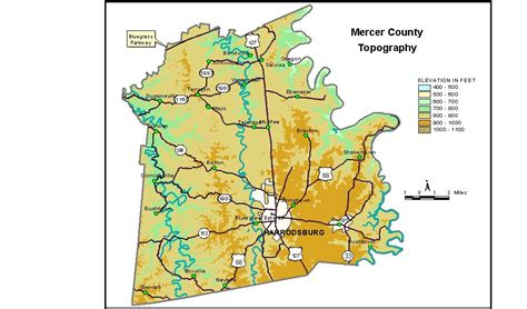 kentucky groundwater map groundwater resources of mercer county kentucky