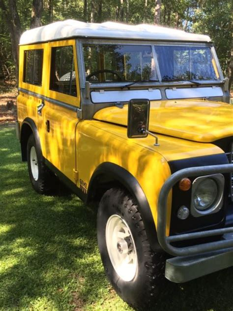 series land rover for sale australia land rover 88 quot series 3 edition unbelievably