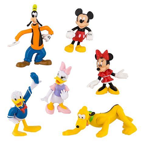 Disney Figure Donald Mickey Minnie Goofy Pluto your wdw store disney figurine set mickey mouse and pals goofy pluto minnie donald