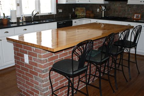 wood kitchen island table kitchen island table with varnished wooden butcher block