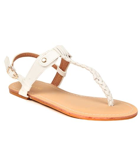 white comfort sandals urbane comfortable white sandals price in india buy