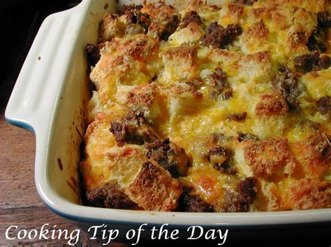 strata recipe overnight egg and cheese strata recipe dishmaps