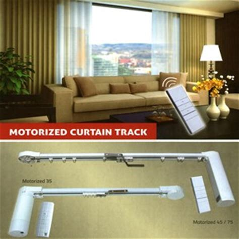 Gorden Otomatis Rel Gorden Otomatis Auto Curtain Track