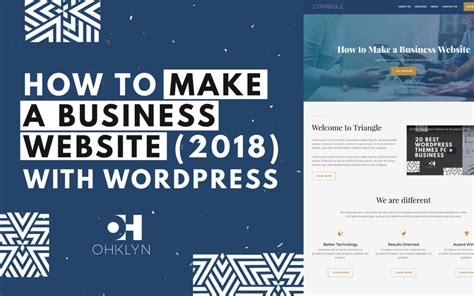 tutorial create website using wordpress how to make a business website 2018 ultra wordpress