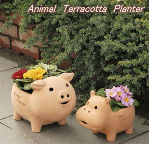 road rakuten global market animal terra cotta planter
