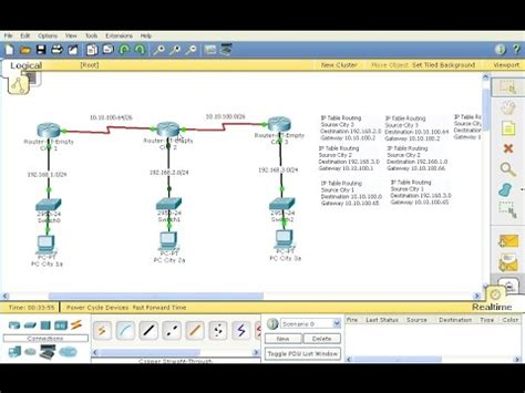 tutorial cisco packet tracer static routing packet tracer tutorial 1 doovi