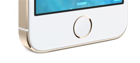 iphone 5s ditches icon on home button in favor of touch id