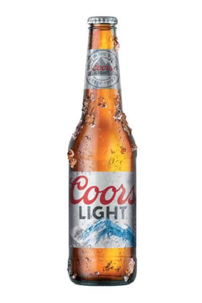 how many carbs in a bottle of coors light how many calories in a bottle of coors light lager
