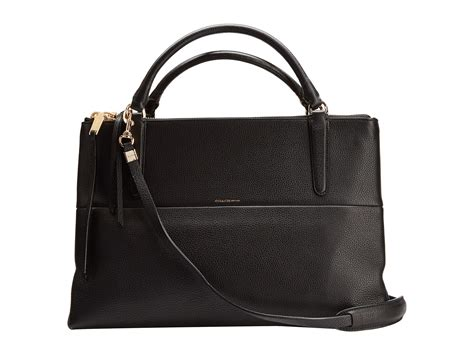 Coach Pebbled Leather Bag by Coach The Borough Bag Pebbled Leather Shipped Free At Zappos