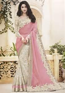 pink saree fancy everytime fashion