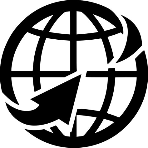 web globe solution svg png icon