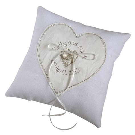 Ring Pillow Uk by The Most Beautiful Wedding Rings Personalised Wedding