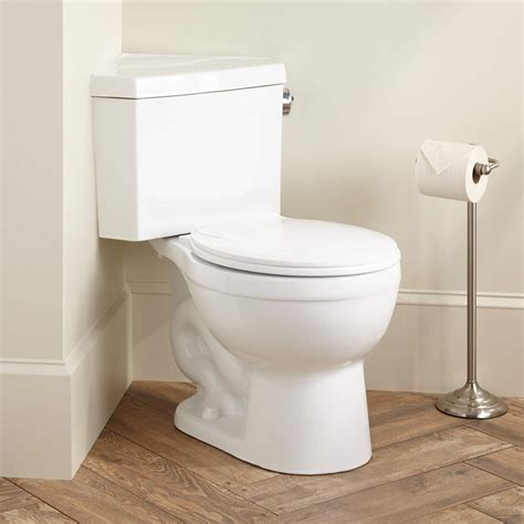 barnum dual flush corner toilet with seat bathroom