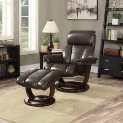 via thomasville burnett top grain leather reclining chair