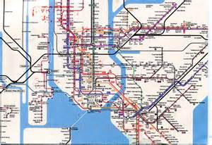 New York Subway Map by Remembering Letters And Postcards Sharing Mail Across