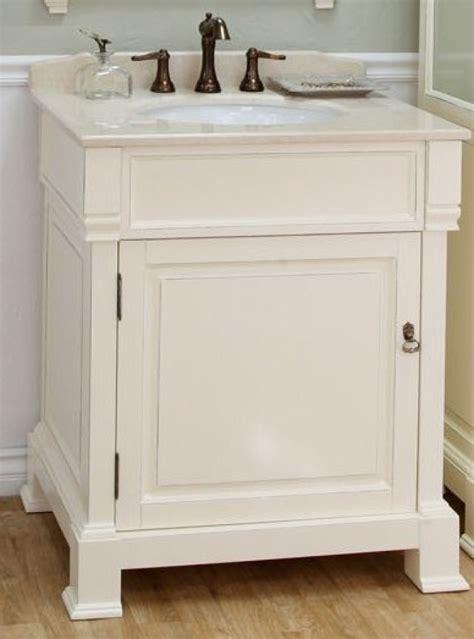 single sink bathroom vanity  cream white