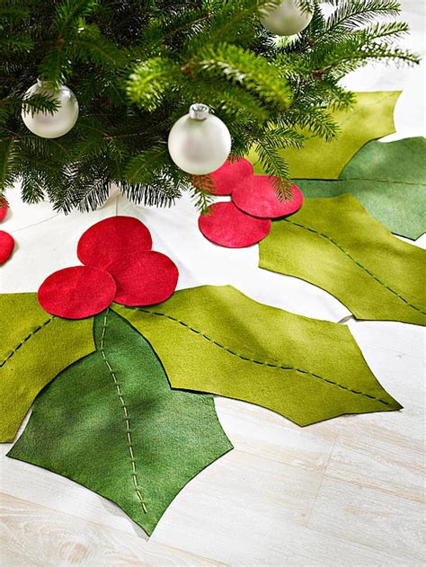 top 25 diy christmas tree skirts christmas celebrations