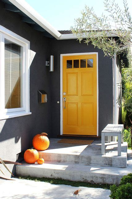 bright yellow door exterior of homes designs yellow doors bright yellow