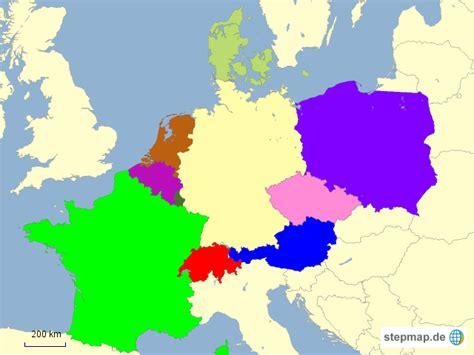 Deutsches Büro Grüne Karte Adresse by Nachbarl 228 Nder Deutschlands L3unny86 Landkarte F 252 R