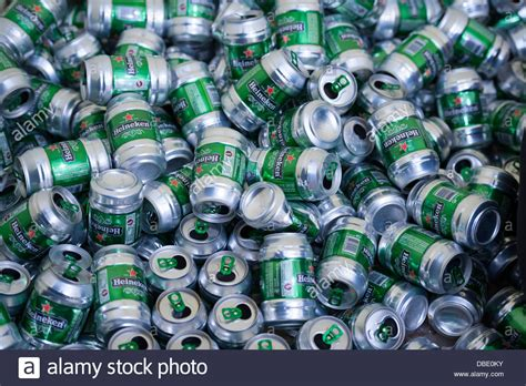 beer cans stock  beer cans stock images alamy