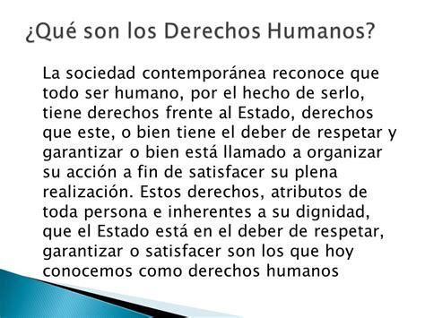 cuales son derechos humanos concepto y fundamentaci 211 n de los derechos humanos ppt