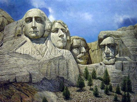 mount rushmore paintings on canvas