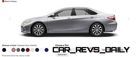 2015 camry colors 2015 toyota camry xle colors 11