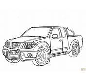 Ausmalbild Nissan Navara  Ausmalbilder Kostenlos Zum Ausdrucken