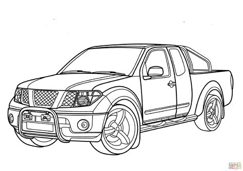 nissan cars coloring pages nissan coloring pages coloring nissan navara coloring page free printable coloring pages
