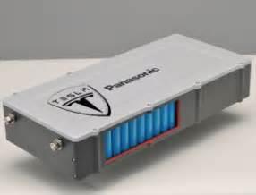 Tesla Electric Car Battery Type Panasonic To Make Li Ion Cells For 80 000 Tesla Model S Evs