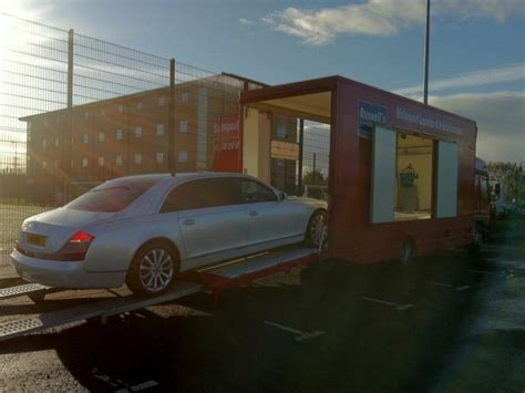maybach 62s to mobo awards for vip car transport