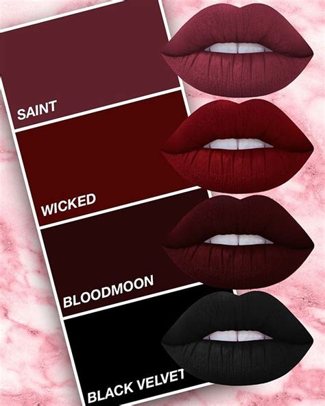 Lip Matte Color Lipstick best 25 burgundy lipstick ideas on burgundy