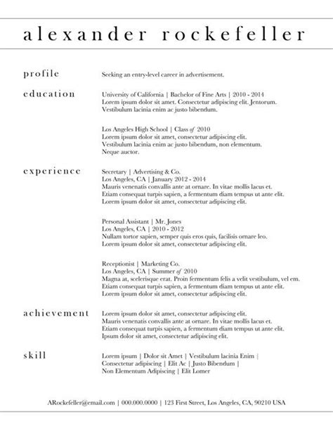 cv design classic custom resume template the alexander rockefeller by