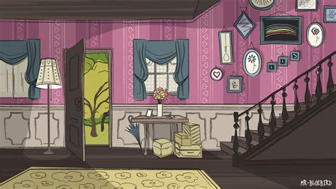 old lady house old lady house by mr bluebird on deviantart