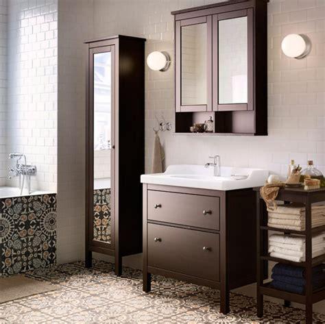 salles de bains ikea en bois photo  le mobilier de salle de bain hemnes existe