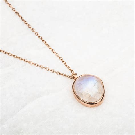 simple jewellery simple semi precious pendant by carrie elizabeth