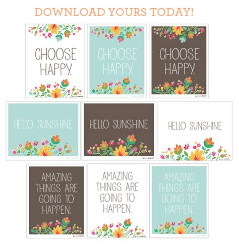 free printable happy quotes printable quotes to frame quotesgram