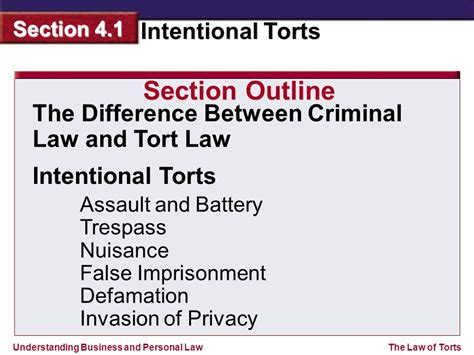 criminal law section what you ll learn how to tell the difference between a