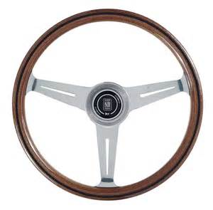 Steering Wheels Nardi Classic Steering Wheel Wood With Polished Spokes