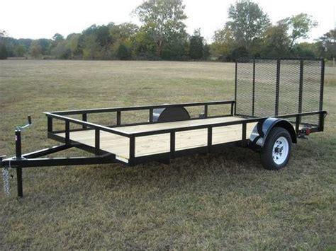 8 x 12 ft utility trailer plans single axle diy