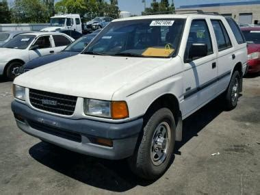 car owners manuals for sale 1996 isuzu rodeo parking system used 1996 isuzu rodeo s car for sale at auctionexport