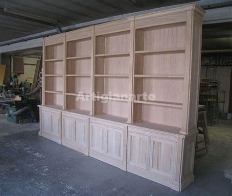 libreria per soggiorno libreria soggiorno su misura artigianarte